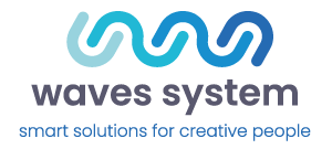 logo waves system