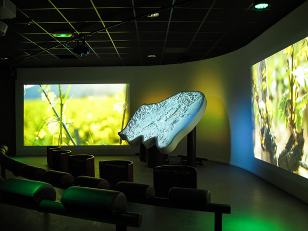 show control DMX en musée
